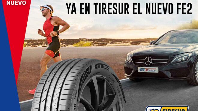 Tiresur ya comercializa el FE2, nuevo neumático de altas prestaciones de GT Radial