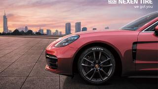 Porsche Panamera montará en origen neumáticos Nexen N'Fera Sport