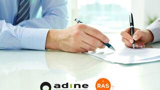 Acuerdo de Adine con la ETT Ras Interim para contratar personal en condiciones ventajosas