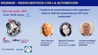 Astrave analizará la seguridad de los vehículos GLP en el seno de Motormeetings