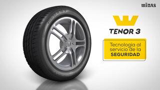 Tenor 3, nuevo neumático de producción 100% europea de Midas