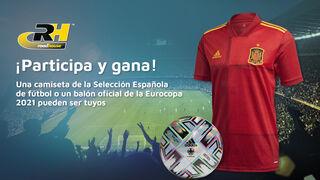 Road House sortea camisetas y balones de la selección española de fútbol entre los talleres
