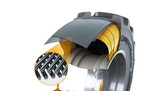 Continental presenta CompactMaster AG, su nuevo neumático para cargadoras