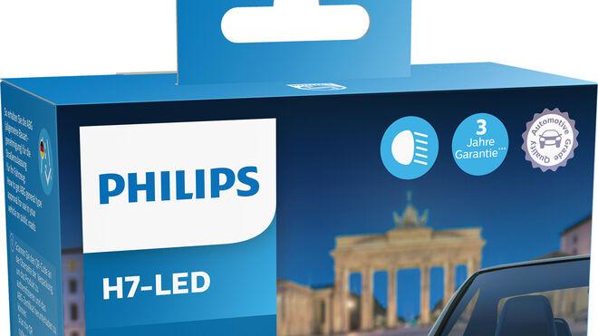 Nueva Philips Ultinon Pro6000, lámpara para actualizar de halógenos H7 a led