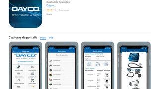 """Dayco actualiza la app """"catálogo móvil"""" para mejorar la atención al cliente"""