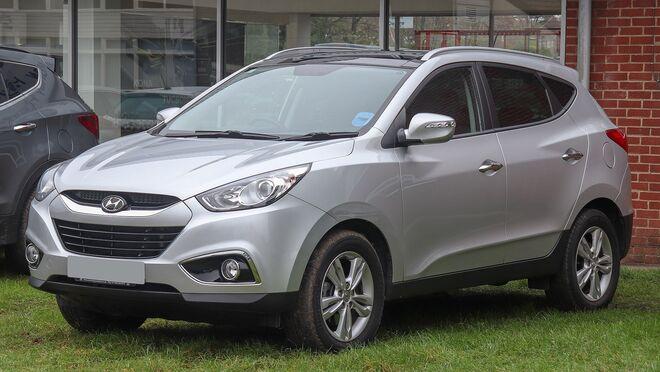 Avería en la unidad de control de presión de neumáticos (TPMS) de un Hyundai ix35