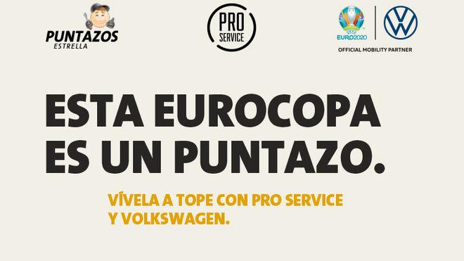 PRO Service regalará productos oficiales de la Euro 2020