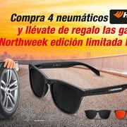Confortauto regala unas gafas Northweek por el 80º aniversario de Hankook