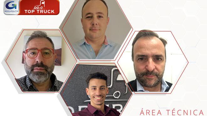 Top Truck refuerza su equipo con cuatro nuevos miembros