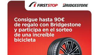 Campaña de Bridgestone y First Stop en pro de la seguridad en los desplazamientos estivales