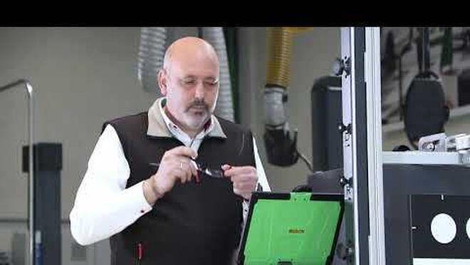 Bosch presenta DAS 3000,  su equipo de calibración estática para sistemas ADAS