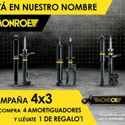 ¡DRiV lanza su campaña 4x3 de Monroe!