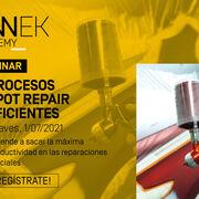 Sinnek impartirá un webinar sobre la aplicación de procesos spot repair de alta eficiencia