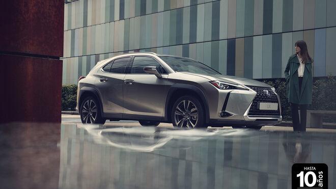 Lexus ofrecerá hasta 10 años de garantía en toda su gama