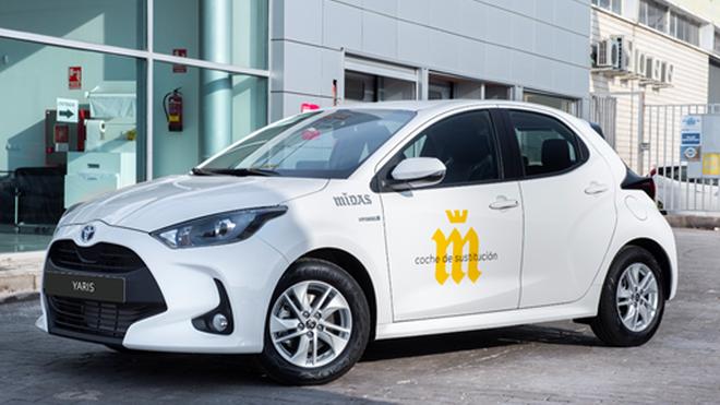 Los nuevos vehículos de sustitución de Midas serán Toyota Yaris