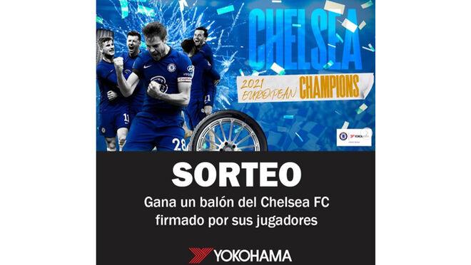Yokohama sortea un balón del Chelsea FC firmado por sus jugadores