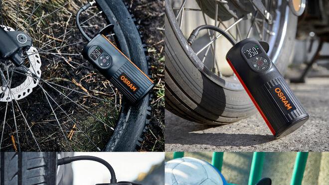Tyreinflate 2000, el nuevo compresor de neumáticos digital de Osram