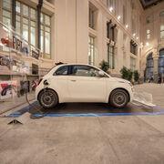 El Fiat 500e equipa de serie el motor eléctrico de GKN Automotive