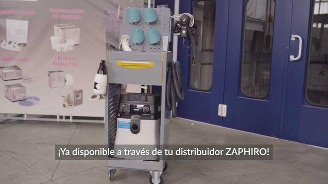Zaphiro desvela en un vídeo los secretos de su nuevo carro de carrocero