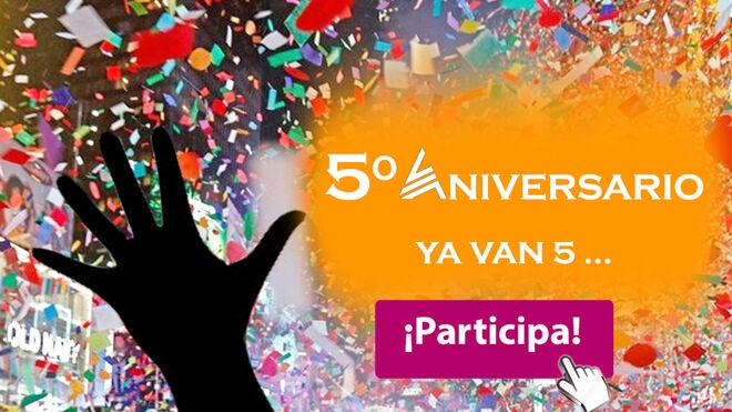 Aser celebra su quinto aniversario con una campaña especial