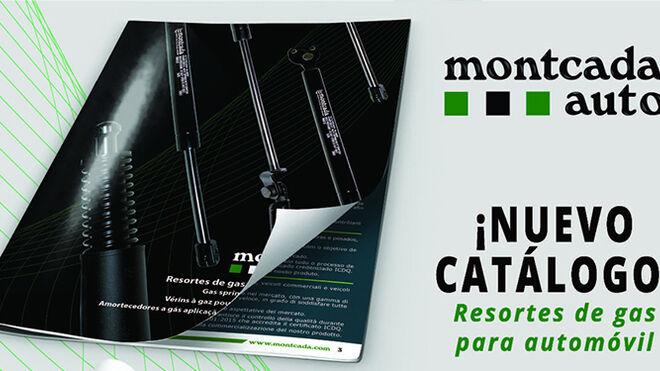 Nuevo catálogo Montcada de resortes de gas para automóvil
