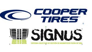 Cooper Tires confía la gestión ambiental de sus NFU a Signus