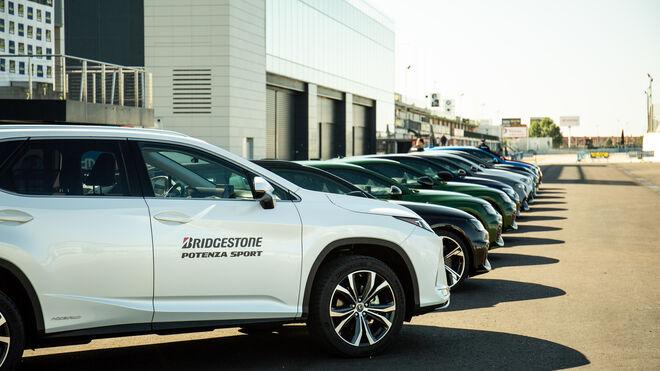 El Bridgestone Potenza Sport se luce en el Jarama
