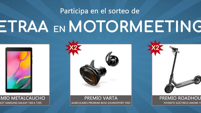 Cetraa sorteará entre sus talleres los regalos previstos para Motormeetings