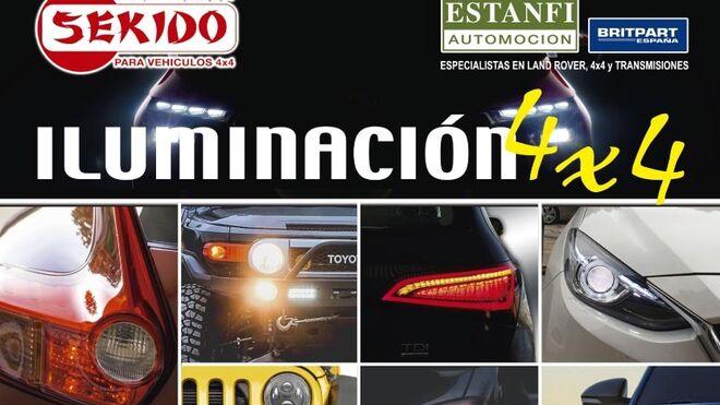 Estanfi publica su nuevo catálogo de iluminación para 4x4