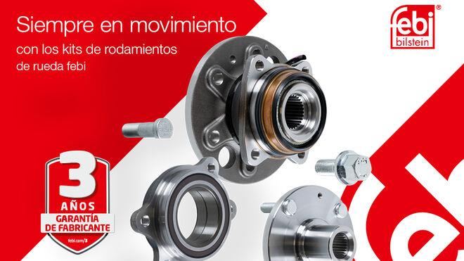 """""""Siempre en movimiento"""", nueva campaña de rodamientos y cubos de rueda febi"""