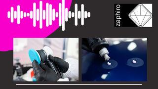 """Zaphiro lanza su segundo podcast, """"Rectificación de defectos del repintado del automóvil"""""""