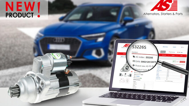 AS-PL amplía su oferta con un nuevo motor de arranque de línea Estándar
