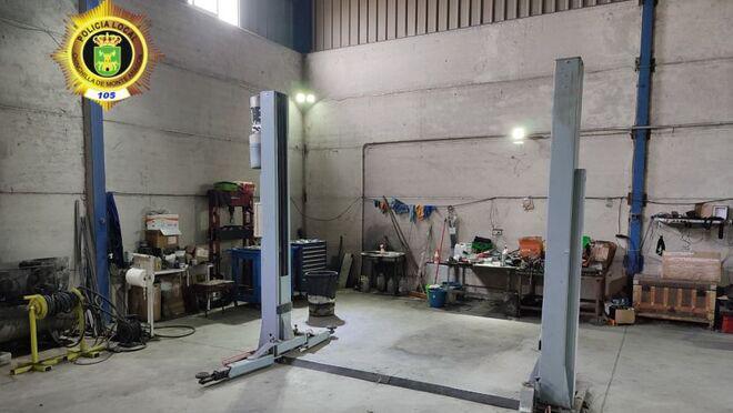 Descubierto un taller ilegal en Chinchilla (Albacete)
