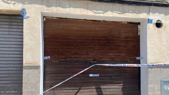 La Policía precinta un taller ilegal en Manacor (Mallorca)