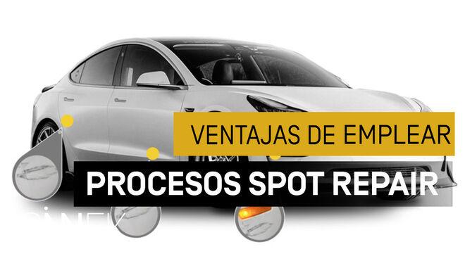 Beneficios de aplicar procesos Spot Repair en carrocería