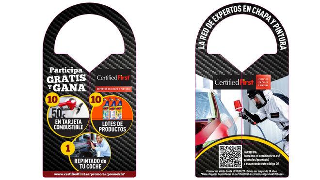 CertifiedFirst y KH-7 regalan un repintado del coche, 10 tarjetas de combustible y 10 lotes KH-7