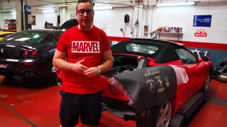 Un viaje a las entrañas del Ferrari 360 Spider de la mano de APT Perfomance
