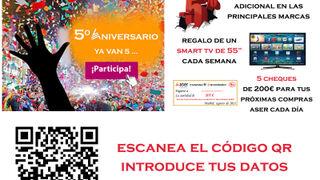 Auto Reparaciones Nito gana el primer televisor de la campaña de Aser por su 5º aniversario