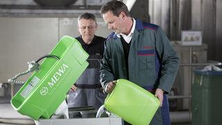Lavapiezas Bio-Circle de Mewa, alternativa a los desengrasantes para talleres