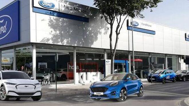 Mica Motor, concesionario oficial Ford, inaugura instalaciones en Granada