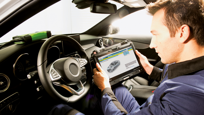SDA, la solución de Bosch para diagnosticar vehículos protegidos
