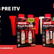Nuevos packs Pre ITV con promoción exclusiva de Motul