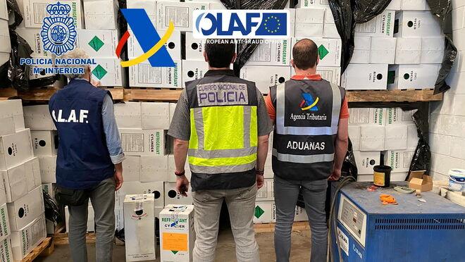 Cae la mayor red europea dedicada a la importación y tratamiento ilegal de gases fluorados
