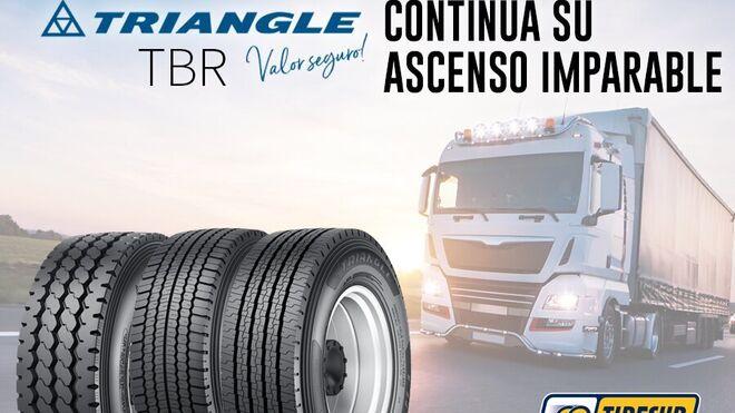 Tiresur amplía la gama Triangle con el neumático para camión TR663