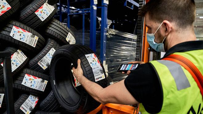 Nex estrena almacén en Mallorca con 5.000 neumáticos de ligero