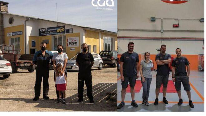Talleres CGA incorpora dos nuevos talleres, Moreauto y Fiserautomoción CB