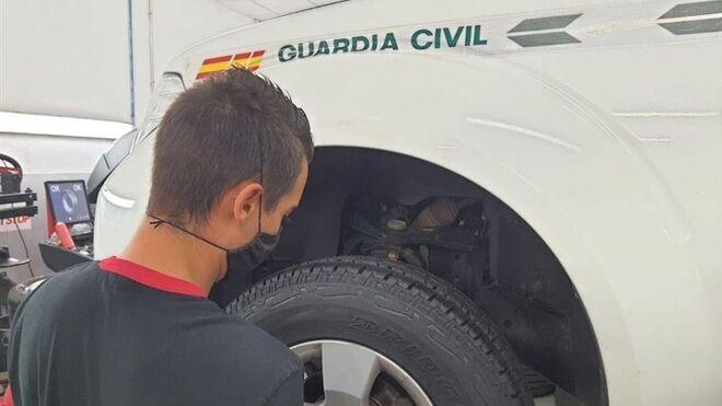 La Guardia Civil adjudica el suministro de neumáticos para su flota a Bridgestone