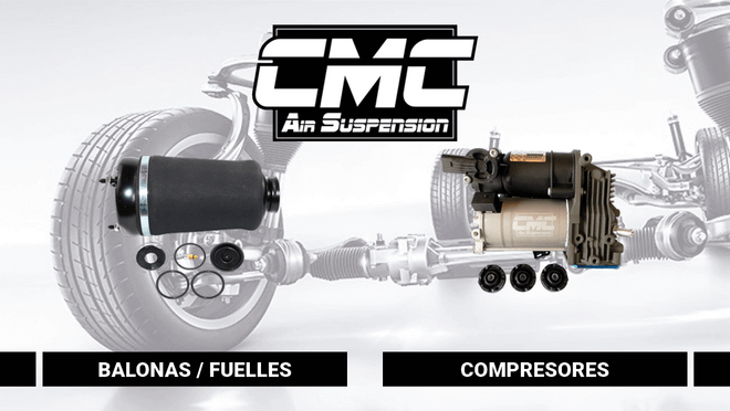 CMC Air Suspension, marca española especializada en suspensión neumática