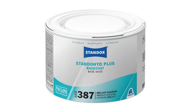 Standox lanza el tinte Mix 387 Brilliant Magenta