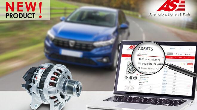 AS-PL incorpora un nuevo alternador para modelos de la Alianza Renault-Nissan